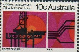 Australia 1970 National Development 10c Oil & Gas MNH - 1966-79 Elizabeth II
