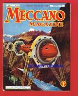 1 Magasine 40 Pages... MECCANO De 1933 ( Jouets....) - Publicités