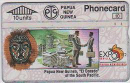 PAPUA NEW GUINEA - EL DORADO - 10 UNITS - 209C - Papua New Guinea