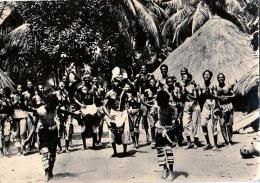 AK GUINEA Ritual Tanz In Guinea OLD POSTCARD - Guinée