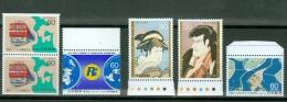 Japan Lot Of  6 Stamps MNH** - Lot. 2038 - Japon