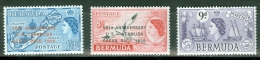Bermuda  1956 -58 MNH** - Lot. 2047 - Bermudes