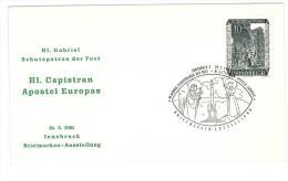 AUSTRIA - ANNO 1961 - CAPESTRANO - ANNULLO SPECIALE - 1961-70 Covers