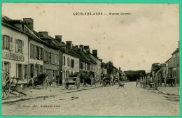 Arcis Sur Aube - Aube -  Avenue Grassin -  Animé - Arcis Sur Aube