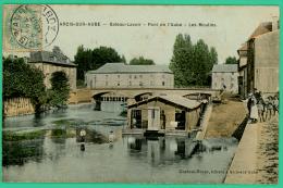 Arcis Sur Aube - Aube -  Bateau-Lavoir - Les Moulins - Animé - Arcis Sur Aube