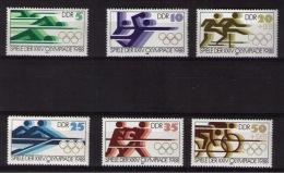 GERMANY DEMOCRATIC REPUBLIC OLYMPIC GAMES - Zomer 1988: Seoel