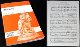 Partition De L'Oratorio « Le MESSIE »  De Haendel - Choral