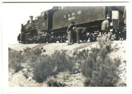 E. N. FF. CC. Bolivia - Photocard Of A Trip Through Bolivia By Train. - & Train - Bolivie
