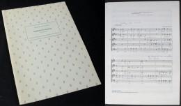 Partition Du « LAMENTO D'ARIANE » à Cinq Voix De Claudio Monteverdi - Chant Chorale