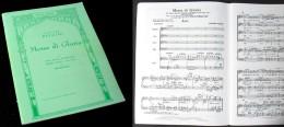 Partition De La MESSE  De  GLORIA De Giacomo PUCCINI - Music & Instruments