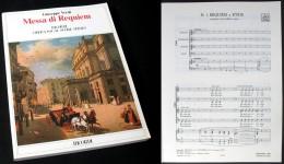 Partition De La « MESSE  De  REQUIEM » De Giuseppe VERDI - Chant Chorale