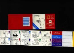 GREAT BRITAIN - 1996 GREETINGS BOOKLET MORE LOVE  DESIGN  MINT NH - Libretti