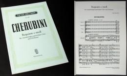 """Partition Du """"REQUIEM En Do Mineur"""" De CHERUBINI - Chant Chorale"""