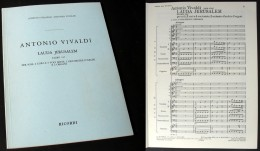 Partition Du «LAUDA  JERUSALEM (Salmo 147)» D'Antonio VIVALDI - Chant Chorale