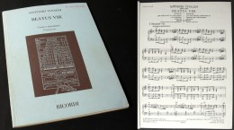 Partition Du « BEATUS  VIR (Salmo 111)» D'Antonio VIVALDI - Corales