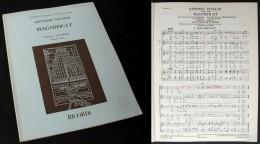 Partition Du « MAGNIFICAT »  D'Antonio VIVALDI - Music & Instruments