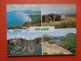 29051 PC: IRELAND: Ireland Multi View Postcard.  (Postmark 1963). - Sonstige