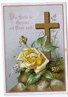 Heilige Bilder HOLLY CARD SANTINI ,RELIGION,DAS WARTEN DER GERECHTEN WIRD FREUDE WERDEN - Andachtsbilder