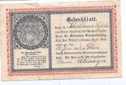 Heilige Bilder HOLLY CARD SANTINI ,RELIGION,GEBET , WIEN 15.JUNI 1905.  SAKRAMENT - Andachtsbilder