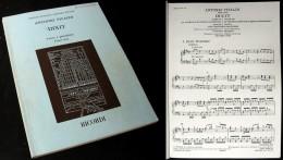 Partition Du « DIXIT (Salmo 109)»  D'Antonio VIVALDI - Chant Chorale