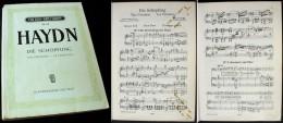 Partition De « La CRÉATION »  De Joseph Haydn - Music & Instruments