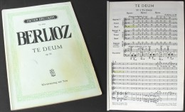 "Partition Du ""Te Deum Opus 22"" D'Hector Berlioz - Chant Chorale"