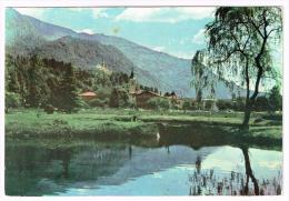 M712 Kobarid Caporetto - Ribogonjnico - Panorama / Viaggiata 1967 - Slovenia