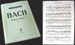 """Partition De La """"La PASSION Selon Saint MATHIEU (BWV244)"""" De J.S. BACH - Chant Chorale"""