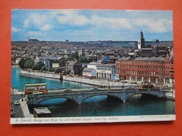 29054 PC: IRELAND: CO. CORK: St. Patrick's Bridge Over River Lee And Shandon Steeple, Cork City. (Postmark 1979). - Cork