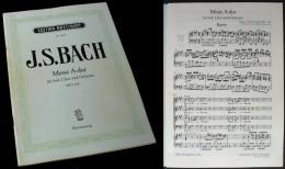 """Partition De La """"MESSE En La Majeur (BWV234)"""" De J.S. BACH - Chant Chorale"""
