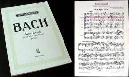 Partition De La «MESSE En Si Mineur (BWV232)» De J.S. BACH - Chant Chorale