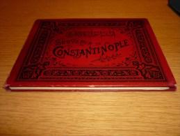 """Superbe Carnet De Photographies 1900's """" Souvenir De Constantinople """" Max Fruchtermann, Editeur, Constantinople. - Foto's"""