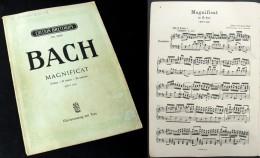 Partition Du  « MAGNIFICAT En Ré Majeur (BWV243)»  De J.S. BACH - Corales
