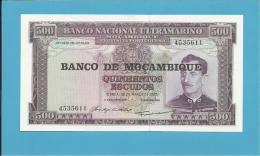 MOZAMBIQUE - 500 ESCUDOS - ND ( 1976 ) - UNC. - P 118 - CALDAS XAVIER - Mozambique