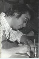 Dessinateur de Bandes dessin�es/Marcel GOTLIB/Dessinant/Vers 1975   PH147