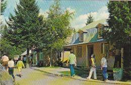 Canada La Rue Principale Street Scene Village de Seraphin Ste-Ad
