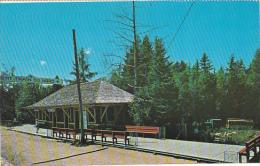 Canada Railway Station Village de Seraphin Ste-Adele Quebec