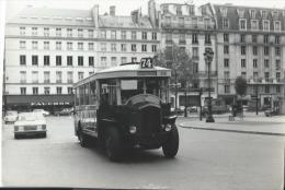 Photographie/Tirage Original D´Epoque/ Autobus Parisien/ Type TH4F/Années 50       PH151 - Transports