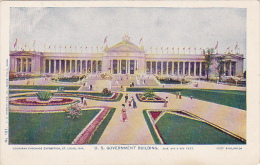 Louisiana Purchase Exposition St Louis 1904 U S Government Build