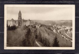 44207     Lussemburgo,  Abbaye  Et  Vue  Generale  De  Clervaux,  VG  1935 - Clervaux