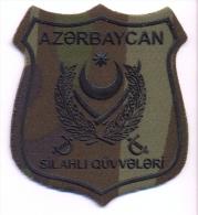Azerbaijan Land Forces Uniform Emblem Patches - Ecussons Tissu