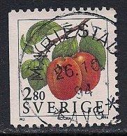 Sweden ~ 1994 ~ Fruits ~ Victoria Plums ~ SG 1716 ~ Used - Suède