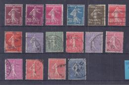 France YT° 189-196 - France