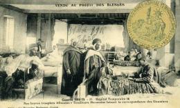 Carte Postale Ancienne (CPA) - Franchise Militaire Hôpital Temporaire De Luçon - 1915 - Oorlog 1914-18