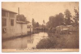 La Crèche - La Passerelle Des établissements De Chamoiserie BOINOT- Cpsm - France