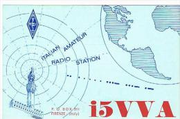 QSL CARD - ITALIA (ITALY) - 1973 SCANDICCI  (FI)    -  RIF. 83 - Radio Amatoriale