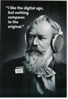 Johannes Brahms Composer Music - Musique Et Musiciens