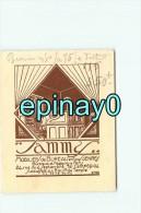 75002 - PARIS  - CARTE DE VISITE PUBLICITAIRE - SAMMY - Mobilier De Bureaux 24 Rue Du 4 Septembre - Visiting Cards
