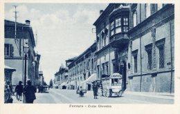 [DC7356] FERRARA - CORSO GIOVECCA - Old Postcard - Ferrara