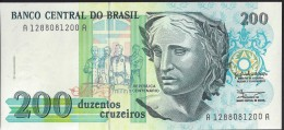BRESIL - 200 Cruzeiros - UNC - Brazil